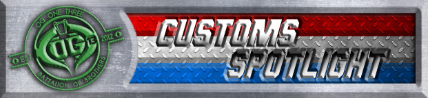 custom customs spotlight